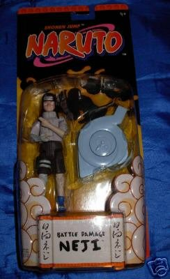 Picture of Mattel Naruto Death Deflyers: Vortex Defense Neji Figure (B000LY2QO8) (Naruto Action Figures)