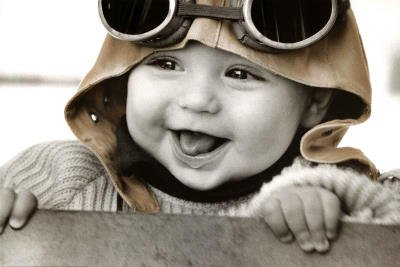 LAMINATED Kim Anderson (Baby Pilot) Art Poster Print