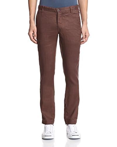 Ganesh Men's Slim Fit Linen Chino Pant