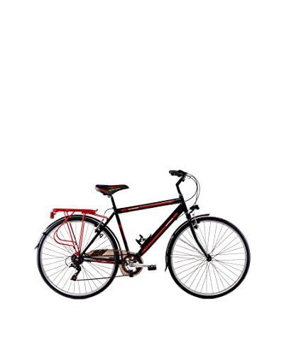 Schiano Cicli Bicicletta 28 Trekking 3.0 06V. Nero/Rosso