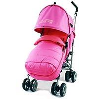 ZETA VOOOM - RASPBERRY + MC Footmuff & Raincover Stroller Pushchair Buggy suitable from birth from Baby TravelTM