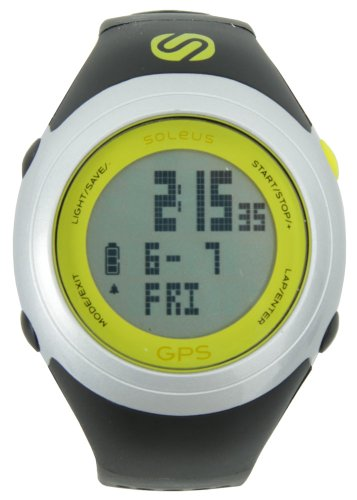 Soleus GPS FIT 1.0j Sgj01009 Black / Silver (Japan Limited Color)