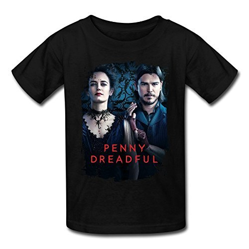 Temporal(TM) Kid's Penny Dreadful Amaizng Design T Shirt Black