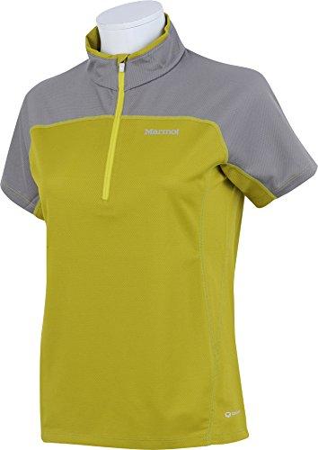 (マーモット)Marmot 登山 ウェア 半袖ジップシャツ MJK-S6527W CTCL CTCL L