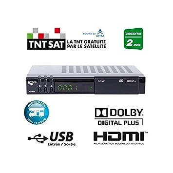 carte tnt sat gratuite Triax   Pack récepteur TRIAX THR 9800 Terminal TNTSAT HD PVR +
