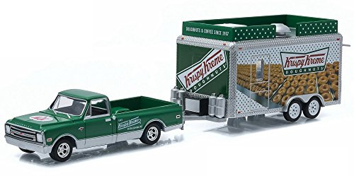 1968-chevrolet-c10-pick-up-greenlight-32040b-con-rimorchio-cibo-krispy-kreme-164-die-cast