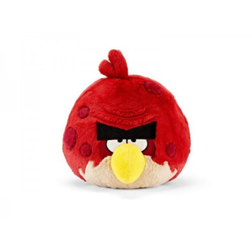 Commonwhealth - Peluche Sonore Angry Birds Rouge Colère 20cm - 0022286930772