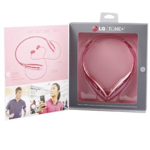 Lg Tone+ Hbs-730 Genuine Pink Wireless Bluetooth 3.0 Headset