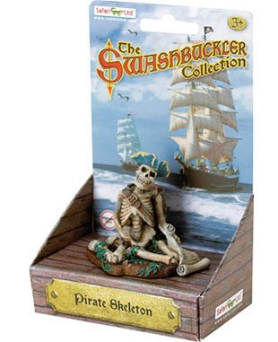 Safari Ltd. Human Figures - Pirates - SKELETON (3 inch)