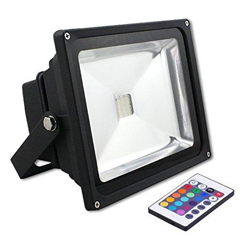 Xy® IP65 étanche 30W IR Remote Control RGB Projecteur LED Avec une Capacité de Mémoire