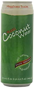 Taste Nirvana Real Coconut Water, 16.2-Ounce (Pack of 12)