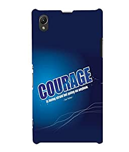 printtech Cool Quotes Success Back Case Cover for Sony Xperia Z1::Sony Xperia Z1 L39h