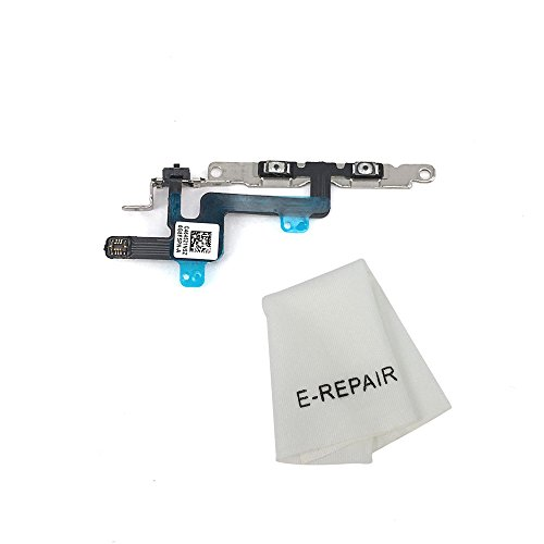 Volume Button and Silent Switch Flex Cable with Brackets Preinstalled for Iphone 6