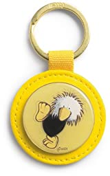 Nici Signature Mascot Keychain - Leather Sam the Eagle Key Ring