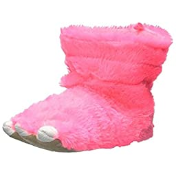 carter\'s Sasha2GS Slipper (Toddler/Little Kid), Neon Pink,Medium/7-8 Toddler