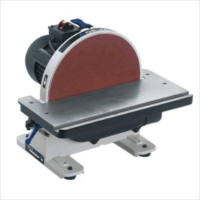 Delta 31 695 6 Inch 9 Inch 1hp Open Stand Belt Disc Sander Table Belt Sanders Shop