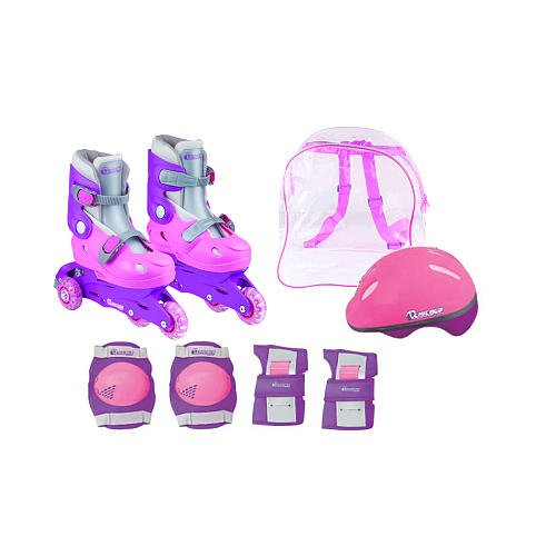 Chicago Girls Training Skate Combo, Size J10 - J13 (Chicago Roller Blades compare prices)