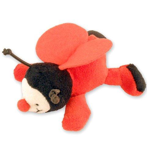 Puzzled Ladybug Plush Magnet