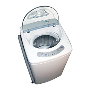 Haier HLP21N Pulsator 1-Cubic-Foot Portable Washer by Haier America