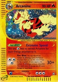 Pokemon - Arcanine (H2) - Aquapolis - Holofoil