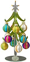 LS Arts Glass Christmas Tree With Str…