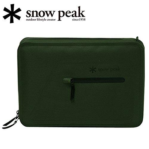 (スノーピーク)snowpeak sp-ug-424ol ウォーターレジスタンスノートPCケース 15.4inch オリーブ WaterResistance NotebookCase 15.4inch OL/UG-424OL SP-ETCA