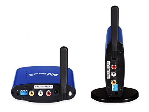 Accfly™ 5.8GHz Wireless Audio Video Sender Transmitter + Receivers TV Extender + IR Remote Extender