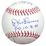 Yankees Perfect Pitchers Autographed Baseball