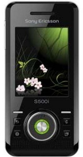 Sony Ericsson S500I Unlocked Cell Phone With 2 Mp Camera, Mp3/Video Player, Memory Stick Micro Slot--U.S. Version With Warranty (Mysterious Green)