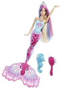 Mattel X9178 - Barbie Farbzauber Meerjungfrau, Puppe