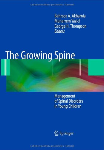 The Growing Spine: Management Of Spinal Disorders In Young Children front-747622
