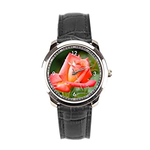 sanYout Best Wrist Watch Brands Jamfoto Leather Watches Garden Mens Leather Band Watch Plant