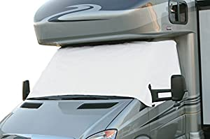 Classic Accessories 80-035-212307-00 Snow White RV Windshield Cover