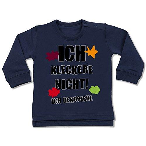spruche-baby-ich-kleckere-nicht-12-18-monate-navy-blau-bz31-dicker-babypullover-fur-jungen-und-madch