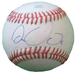 2012 NL All Star Carlos Gonzalez Autographed ROLB Baseball, Colorado Rockies, Oakland Athletics, Proof Photo