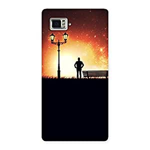 Evening Multicolor Back Case Cover for Vibe Z2 Pro K920