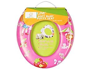 Ole Baby Ole Baby Cutie Princess with Kitty Cat in Garden, Padded, Soft, and Durable,Full Cushion Assorted Potty Trainer Seat