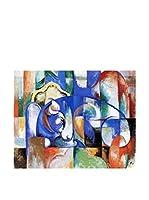 Especial Arte Lienzo Toro - Mark Franz Multicolor