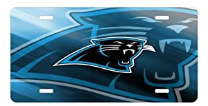 Carolina Panthers License Plate Sign 6'' x 12'' New Quality Aluminum