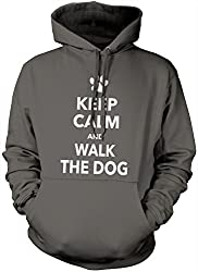 Keep Calm and Walk the Dog Hoody - Various Colours and Sizes Hoodie from HotScamp