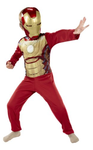 Iron Man 3 Mark 42 Full Dress Up (Iron Man Kids Costume compare prices)