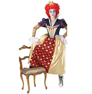 Rubies Disney Alice In Wonderland Red Queen Ladies Costume Large