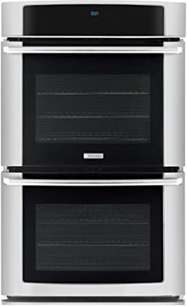 "Electrolux EW30EW65GS 30"" Electric Double Wall Oven with Wave-Touch® Controls and Luxury-Glide® Oven R, Stainless Steel"