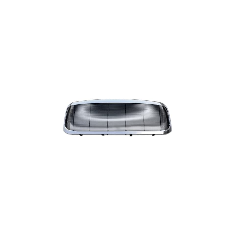 TRex Grilles 50574 Horizontal Aluminum Polished Finish Billet Assembly Grille W/OE Style Grille for Ford Super Duty Excursion