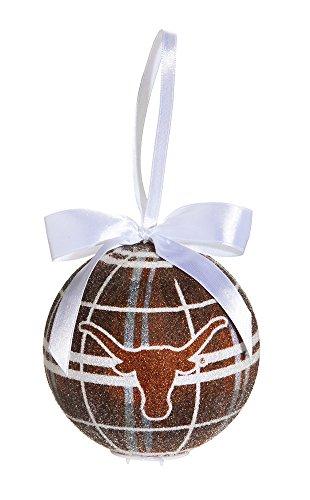 100Mm Led Ball Ornament, University Of Texas