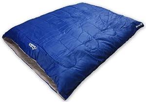Andes Alma 250 2 Season Double Camping Sleeping Bag Blue