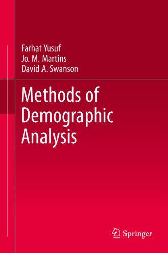 Farhat Yusuf, Jo. M. Martins  David A. Swanson - Methods of Demographic Analysis