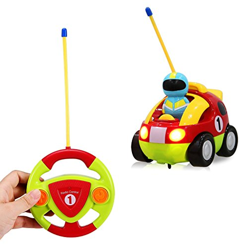 Cartoon-RC-Race-Car-Radio-Control-Toy-for-Toddlers-by-Liberty-Imports-ENGLISH-Packaging
