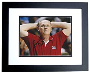 George Karl Autographed Hand Signed 8x10 Denver Nuggets Photo - BLACK CUSTOM FRAME -... by Real Deal Memorabilia