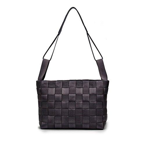 shopping bag Tessuto/piccolo pacchetto Fashion Square/borsa a tracolla Ms./borsa semplice-B